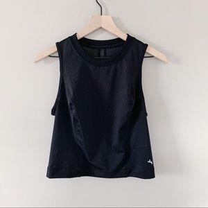 ✰NEW✰ black mesh workout tank top
